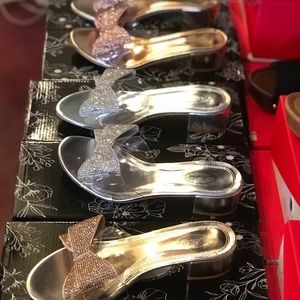 51b0d944acd Women s Gold Prom Shoes With Rhinestones on Poshmark